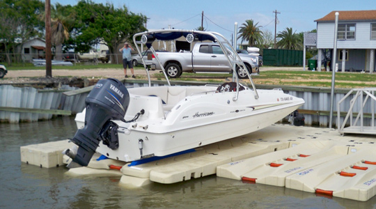 EZ BoatPort® BP3000 with Side Extensions