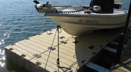 BP4000 BoatPort with Float Tank and Air-Assist