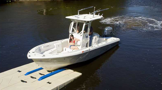 BP5000 BoatPort with Side Extensions, Float Tank and Air-Assist