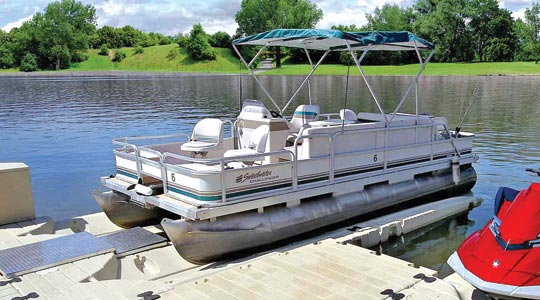 EZ Pontoon Lift, 2,000 lbs. capacity