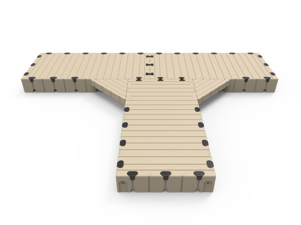 T-Shape dock, 25' Long x 20' Wide