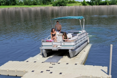 Floating Pontoon Lift